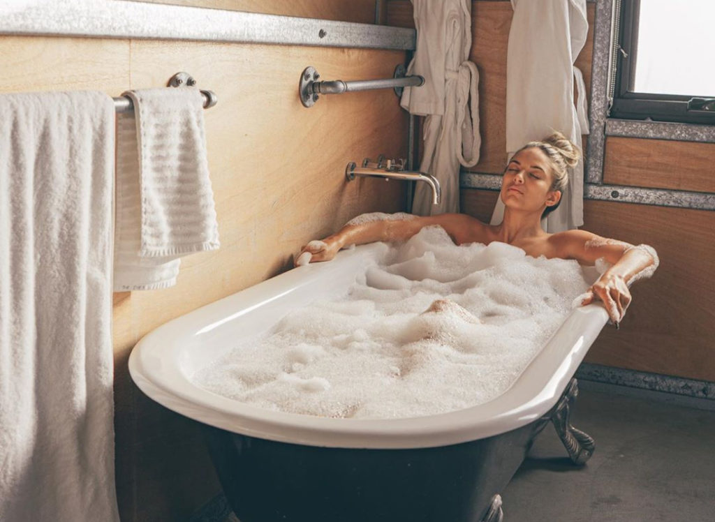 Bathing 1-2 hours before bedtime can significantly increase your chances of getting a good night's rest.